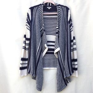 Lucky Brand open front knit cardigan sweater shrug